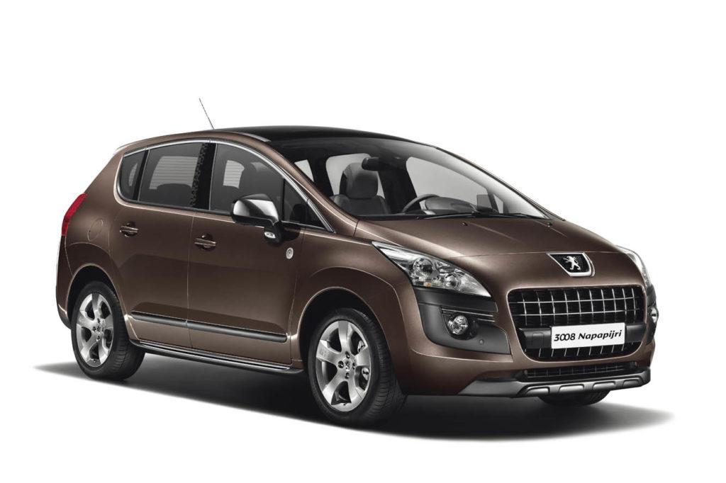 Peugeot 3008 rent